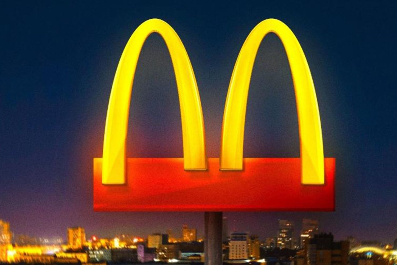 Example of McDonald's social distancing campaign idea
